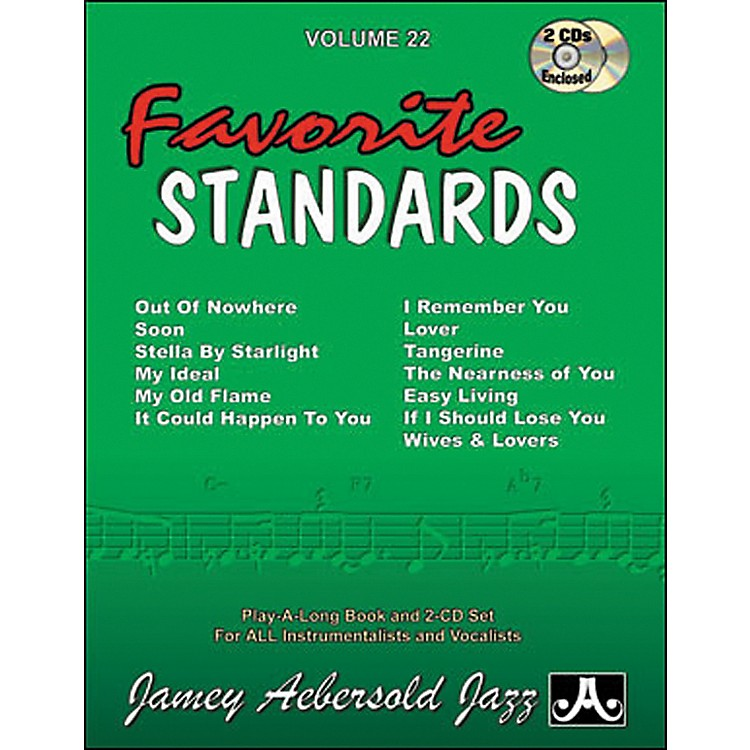 Jamey Aebersold Favorite Standards