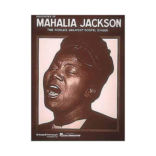 Hal Leonard Favorites Of Mahalia Jackson Songbook