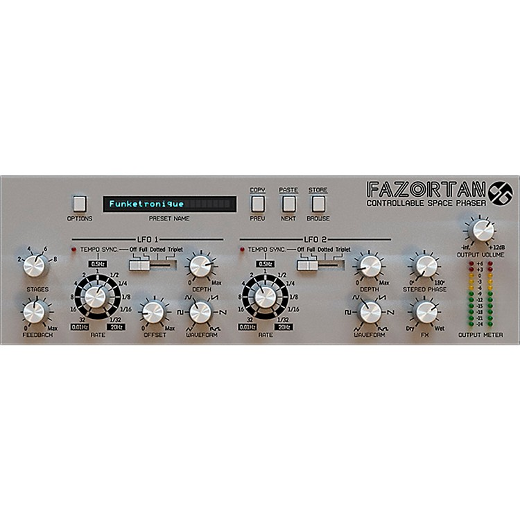 D16 GroupFazortan Controllable Space Phaser Plug-in (VST/AU) Software Download