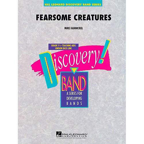 Hal Leonard Fearsome Creatures - Discovery Concert Band Level 1.5-thumbnail