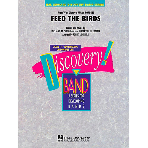 Hal Leonard Feed The Birds (from Mary Poppins) Discovery Concert Band Level 1.5-thumbnail