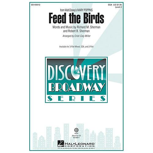 Hal Leonard Feed the Birds (Discovery Level 2) SSA arranged by Cristi Cary Miller-thumbnail