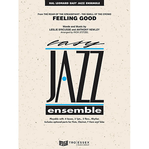 Hal Leonard Feeling Good Jazz Band Level 2 Arranged by Rick Stitzel