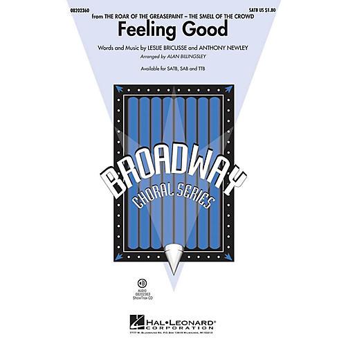 Hal Leonard Feeling Good SAB by Michael Bublé Arranged by Alan Billingsley