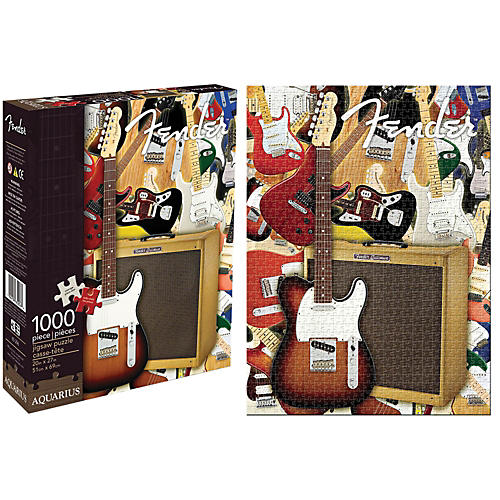 Hal Leonard Fender Collage 1,000 Piece Jigsaw Puzzle