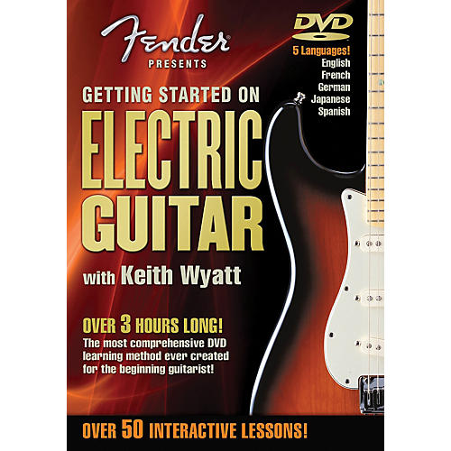 Hal Leonard Fender DVD Package - Getting Started On Electric Guitar