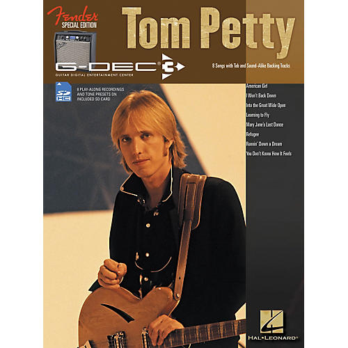 Hal Leonard Fender G-Dec Tom Petty Play-Along Guitar Songbook/SD Card