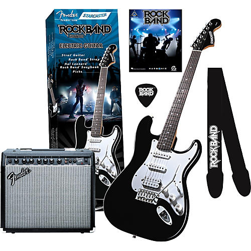 Fender Fender Starcaster Rock Band Frontman 25R Combo Amp Value Pk