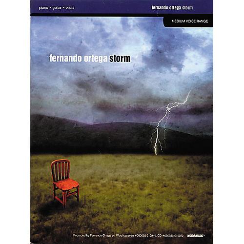 Word Music Fernando Ortega - Storm (Book)