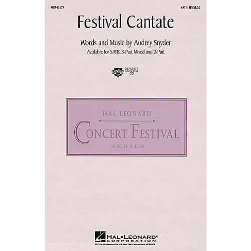 Hal Leonard Festival Cantate ShowTrax CD Composed by Audrey Snyder