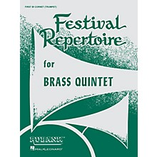 Rubank Publications Festival Repertoire for Brass Quintet (2nd Trombone/Baritone B.C. (4th Part)) Ensemble Collection Series