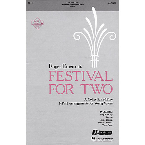 Hal Leonard Festival for Two (Collection) 2-Part composed by Roger Emerson-thumbnail