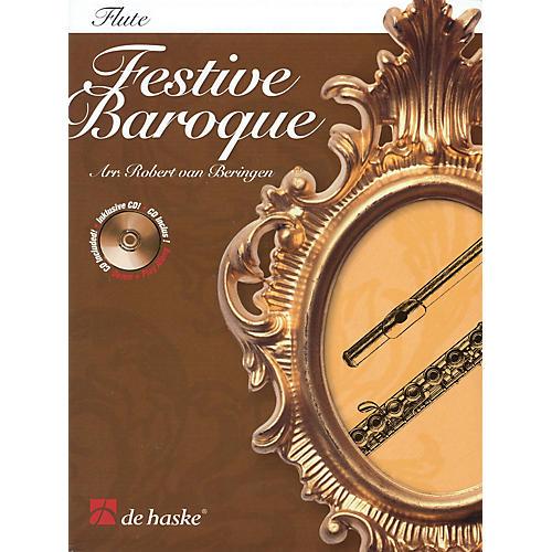 De Haske Music Festive Baroque (Trombone) De Haske Play-Along Book Series-thumbnail
