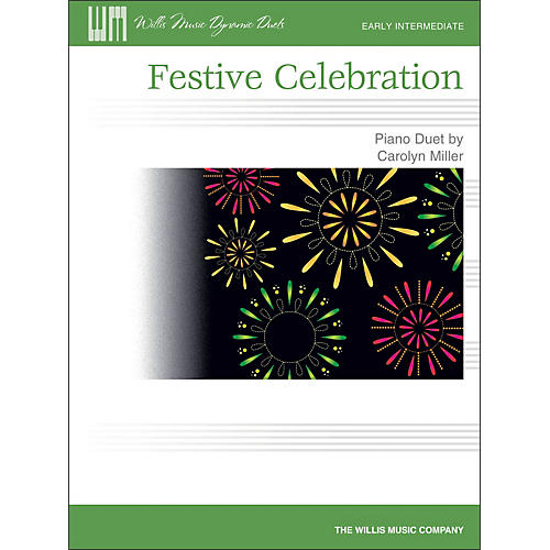 Willis Music Festive Celebration - Early Intermediate Duet Sheet (1 Piano, 4 Hands)-thumbnail