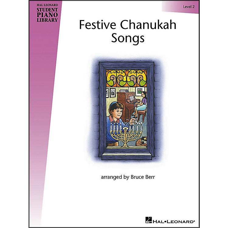 Hal LeonardFestive Chanukah Songs Level 2 Hal Leonard Student Piano Library by Bruce Berr