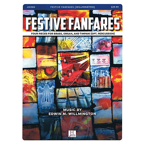 Jubal House Publications Festive Fanfares BRASS AND ORGAN composed by Edwin Willmington-thumbnail