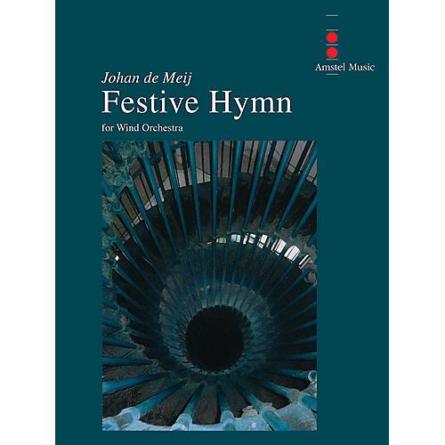 Amstel Music Festive Hymn Concert Band Level 3 Composed by Johan de Meij-thumbnail