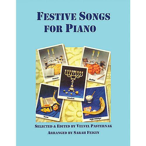 Tara Publications Festive Jewish Songs for Piano Tara Books Series-thumbnail