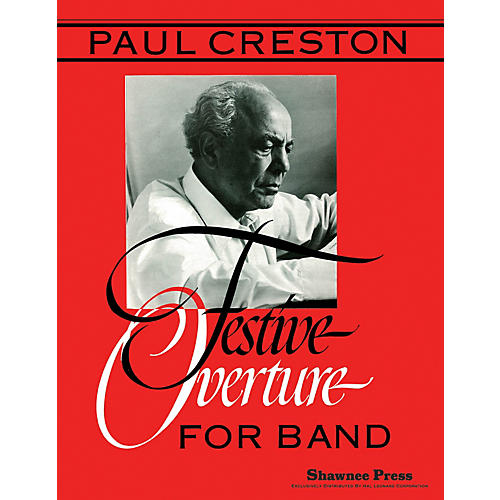 Shawnee Press Festive Overture Concert Band Level 5 Composed by P. Creston-thumbnail