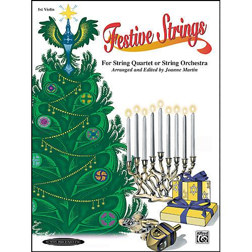 Alfred Festive Strings 1st Violin (Book)