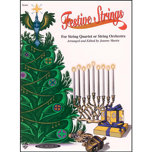 Alfred Festive Strings Score (Book)
