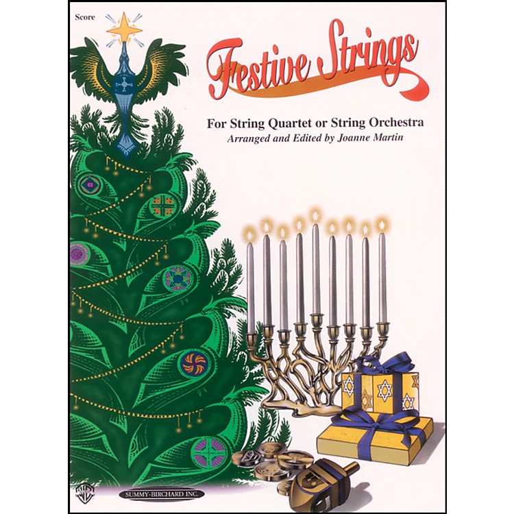 Alfred Festive Strings Score (Book)