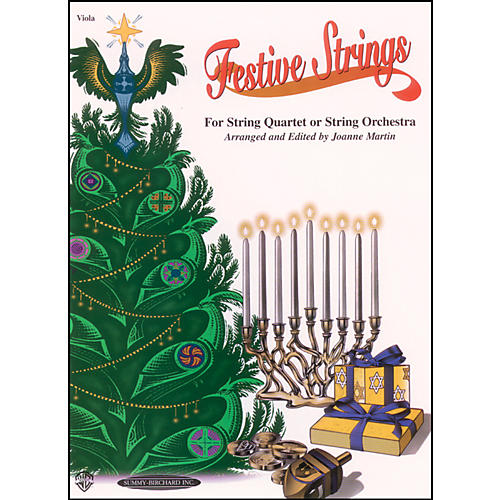 Alfred Festive Strings Viola (Book)-thumbnail