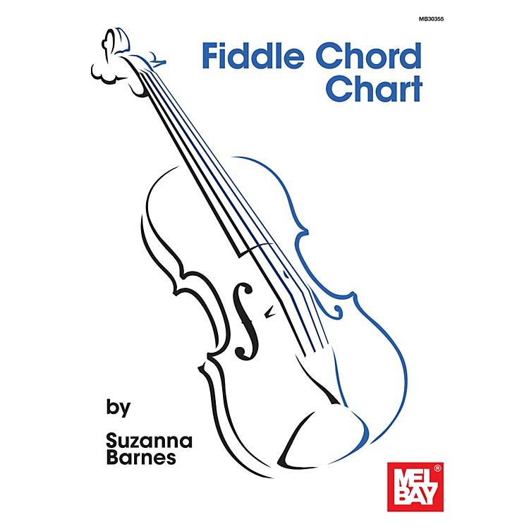 Mel BayFiddle Chord Chart