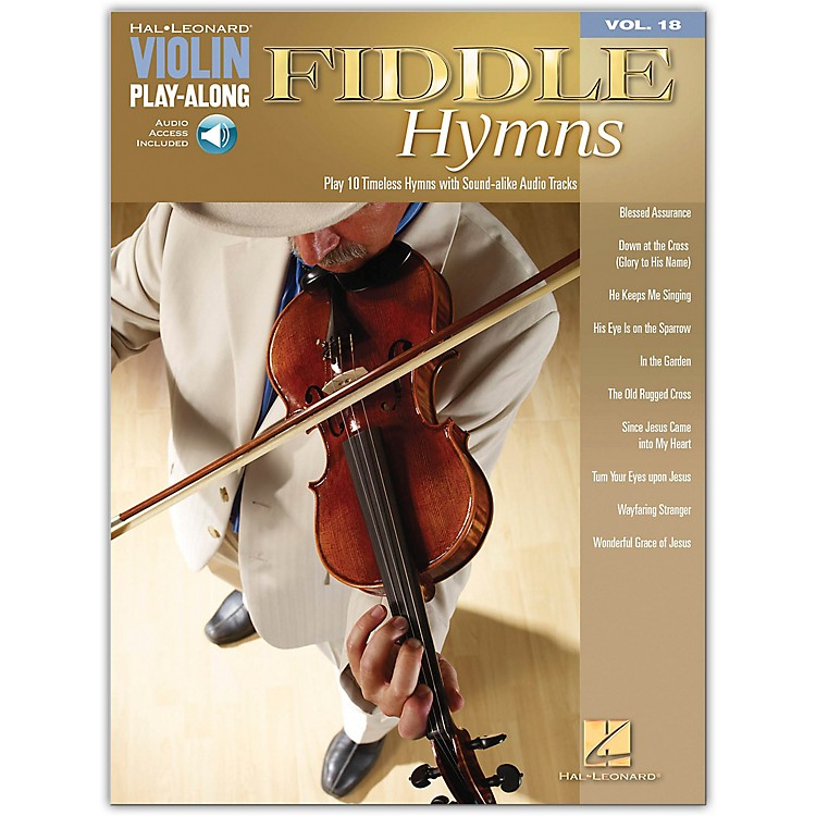Hal LeonardFiddle Hymns - Violin Play-Along Volume 18 (Book/CD)