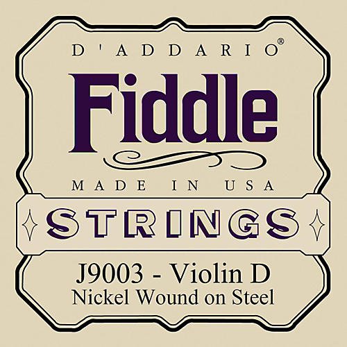 D'Addario Fiddle Series Violin D String
