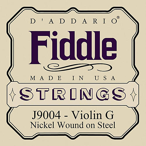 D'Addario Fiddle Series Violin G String-thumbnail