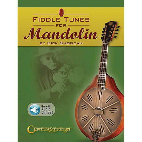 Centerstream Publishing Fiddle Tunes for Mandolin Fretted Series Softcover Audio Online Written by Dick Sheridan-thumbnail