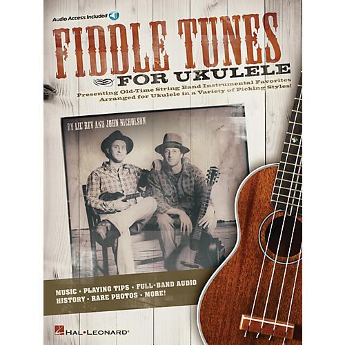 Hal Leonard Fiddle Tunes for Ukulele Ukulele Series Softcover Audio Online Written by Lil' Rev-thumbnail