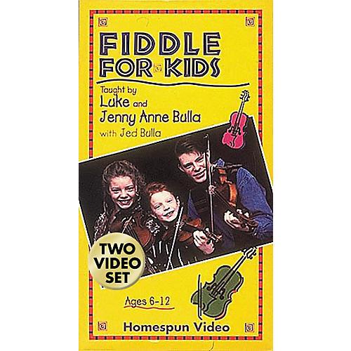 Hal Leonard Fiddle for Kids - 2-Video Set