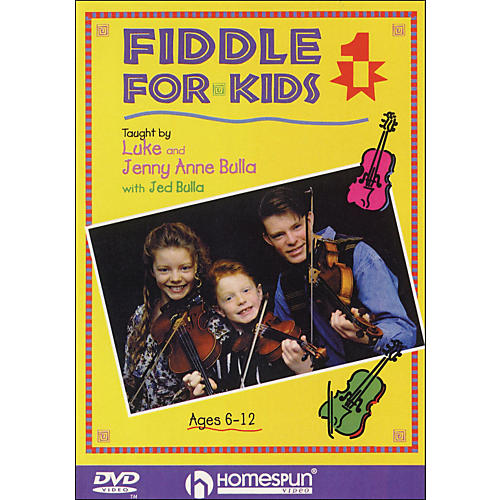 Homespun Fiddle for Kids, Lesson One (DVD)