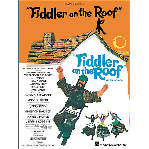 Hal Leonard Fiddler On The Roof for Easy Piano