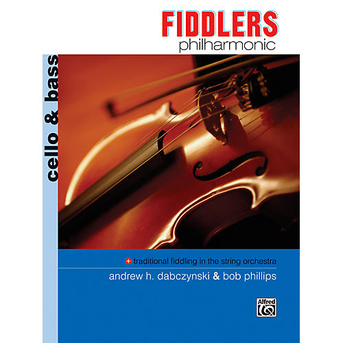 Alfred Fiddlers Philharmonic Cello & Bass Book