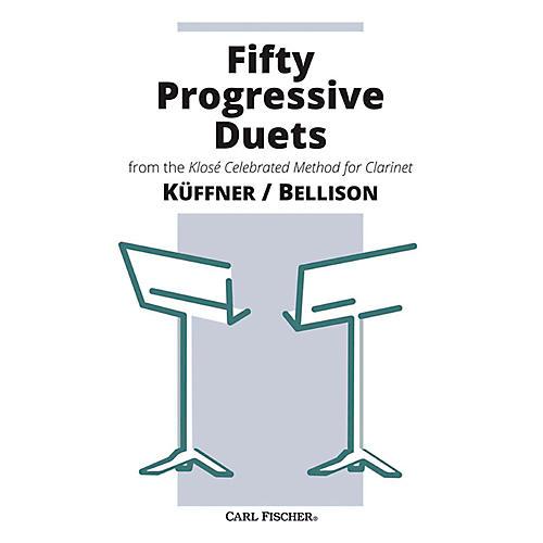 Carl Fischer Fifty Progressive Duets Book - Clarinet-thumbnail