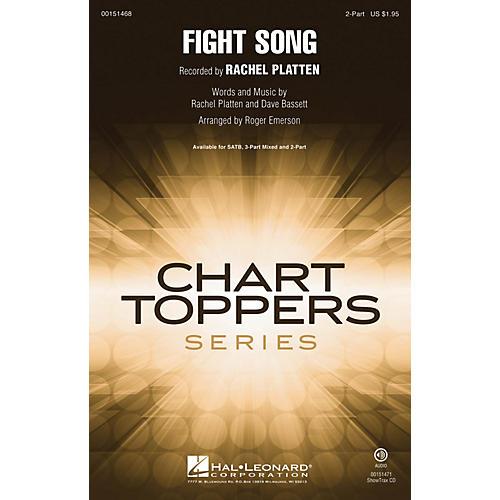 Hal Leonard Fight Song 2-Part by Rachel Platten arranged by Roger Emerson-thumbnail
