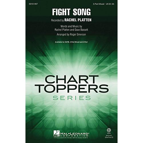 Hal Leonard Fight Song 3-Part Mixed by Rachel Platten arranged by Roger Emerson-thumbnail