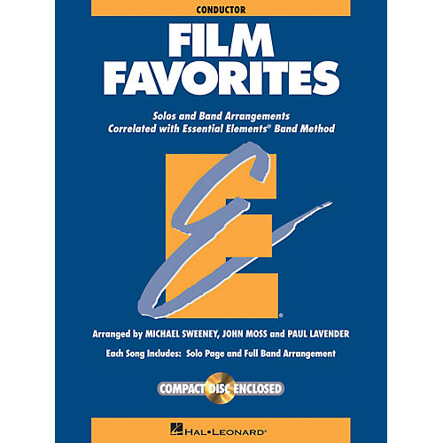 Hal Leonard Film Favorites - Value Pak Concert Band Level 1-1.5 Arranged by Michael Sweeney-thumbnail