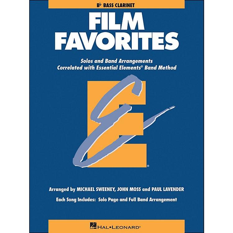 Hal LeonardFilm Favorites B-Flat Bass Clarinet