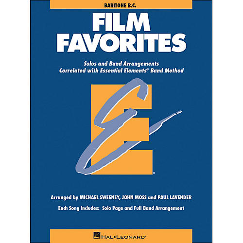 Hal Leonard Film Favorites Baritone B.C.