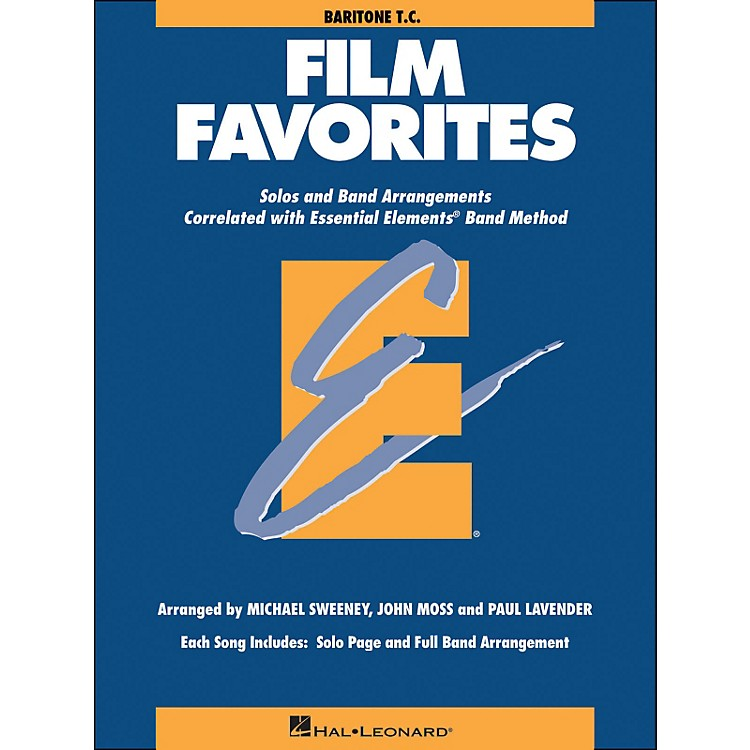 Hal LeonardFilm Favorites Baritone T.C.