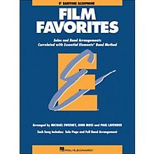 Hal Leonard Film Favorites E-Flat Baritone Saxophone