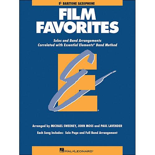 Hal Leonard Film Favorites E-Flat Baritone Saxophone-thumbnail