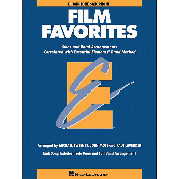 Hal LeonardFilm Favorites E-Flat Baritone Saxophone
