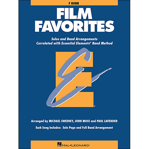 Hal Leonard Film Favorites F Horn