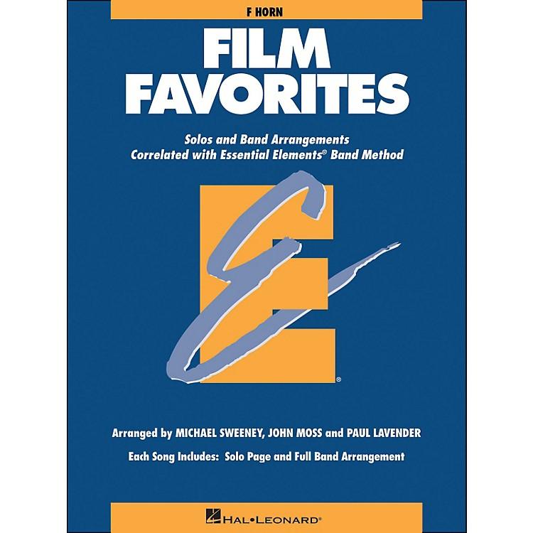 Hal LeonardFilm Favorites F Horn