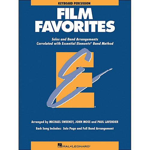 Hal Leonard Film Favorites Keyboard Percussion